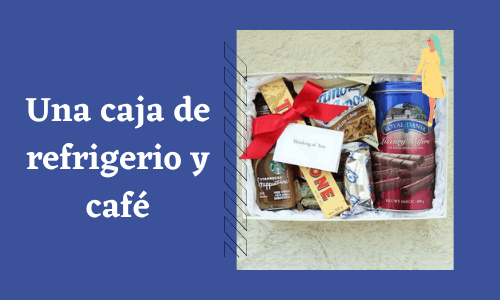 Caja de refrigerio y café
