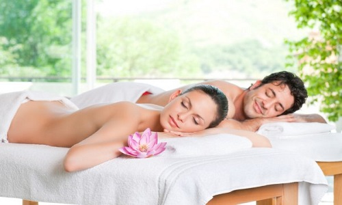 Spa y masaje relajante