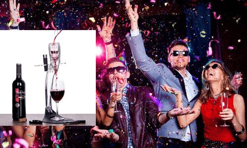 Copas de vino con vino