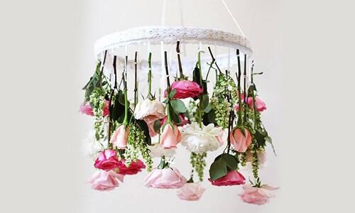 floral chandeiler