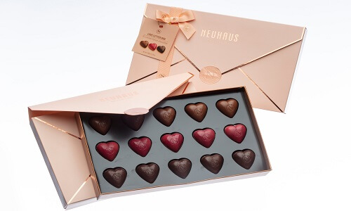 love letter with chocolates