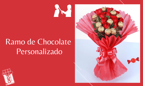 personalized chocolate bouquet
