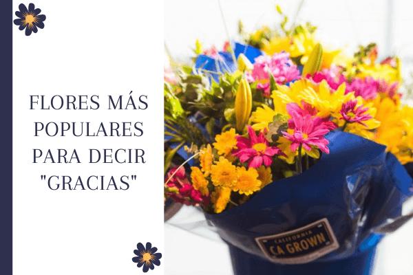 """Flores más populares para decir """"gracias"""""""